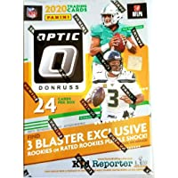$149 » 2020 Donruss Optic NFL Football Factory Sealed Blaster Box 6 Packs of 4 Cards, 24 Cards in all 3 Pink Prizm Cards Per Box, On Average. Chase…