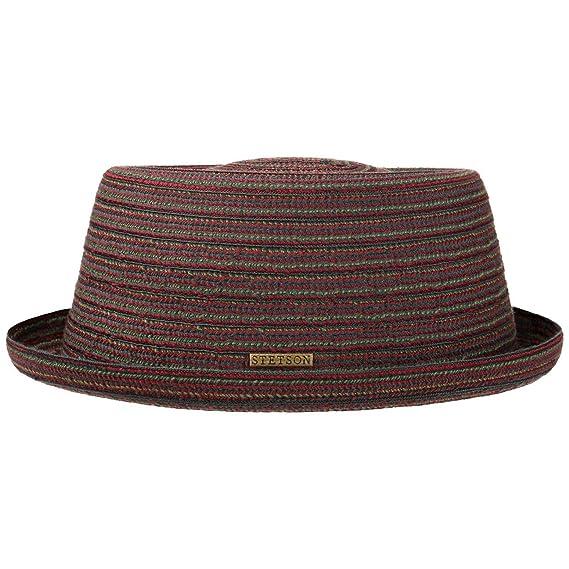 Stetson Cappello di Tessuto Pico Pork Pie Uomo  cf2a09f8609e