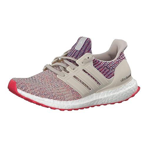 Adidas Ultraboost W, Zapatillas de Running para Mujer, Marrone Clear Brown/Shock Red/Active Blue, 39 EU: Amazon.es: Zapatos y complementos