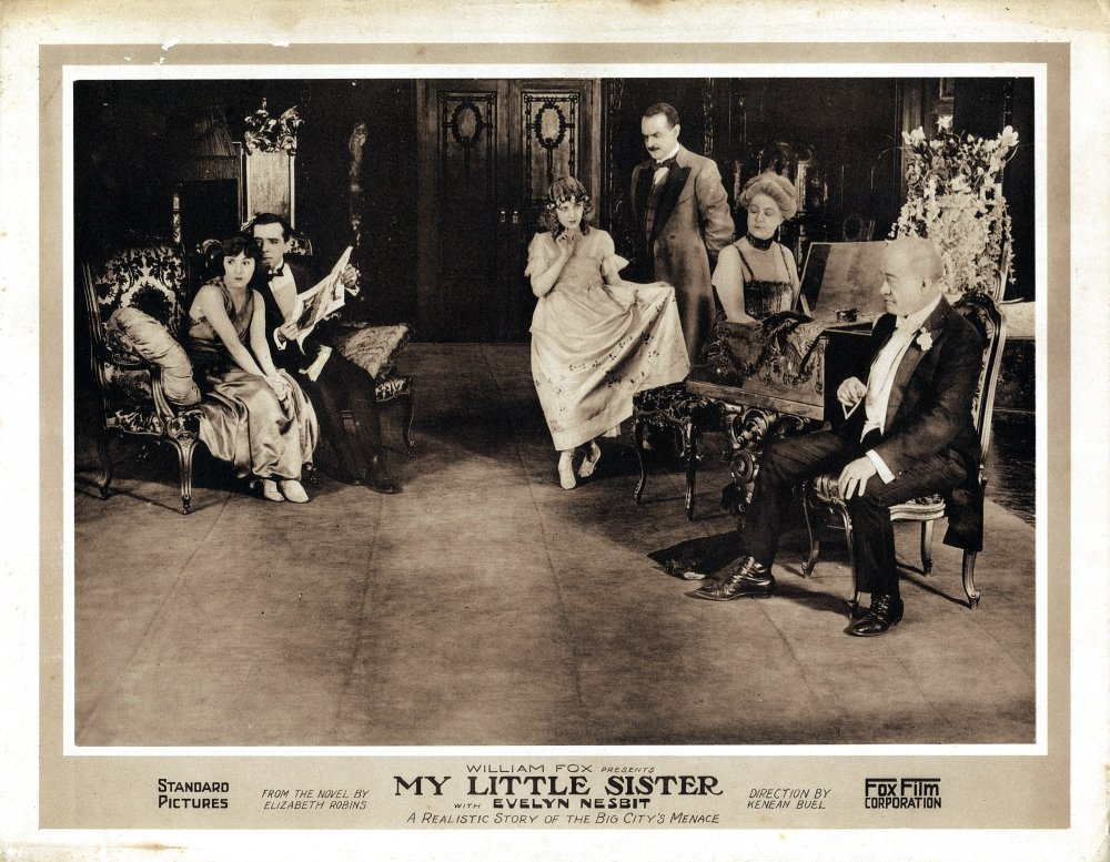 Amazon.com: My Little Sister Evelyn Nesbit 1919 Movie Poster ...