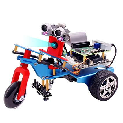6453a6596a Yahboom Raspberry Pi TrikeBot Smart Robot Car Kit Programmable Learning  with HD Camera Video DIY Robot