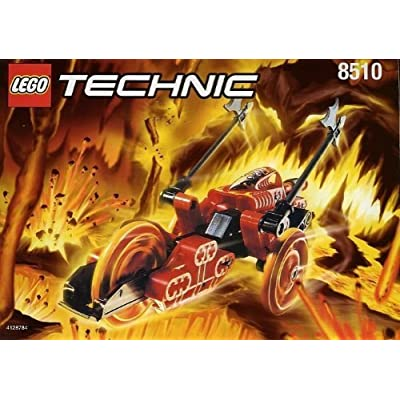 Lego Technic RoboRiders 8510 Lava (Red): Toys & Games