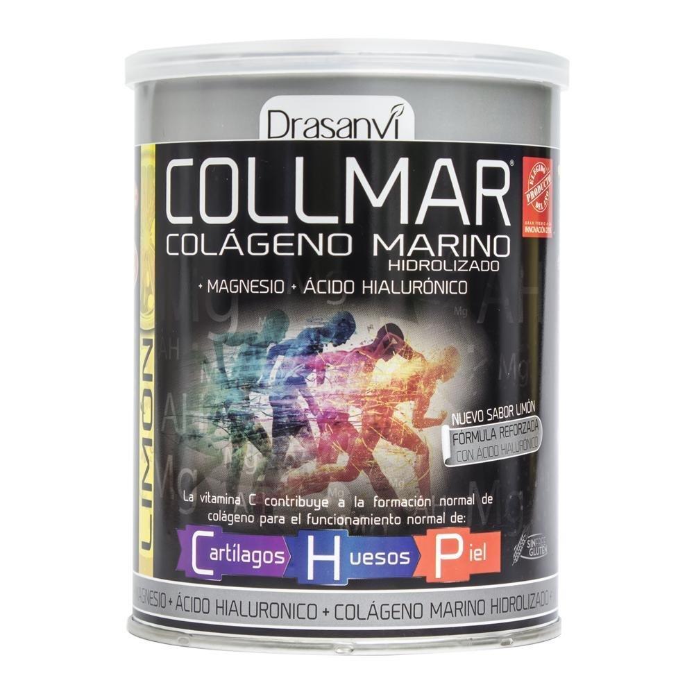 COLLMAR Limón Colágeno Hidrolizado + Magnesio + Vitamina C 300G Drassanvi: Amazon.es: Salud y cuidado personal