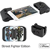 Gamevice Controller – Gamepad Game Controller for iPhone X/8/7/6 & Plus [Street Fighter] [Apple MFi Certified] [DJI Spark, Tello, Sphero Star Wars] - 1000+ Compatible Games (2018 Model) – GV157SF