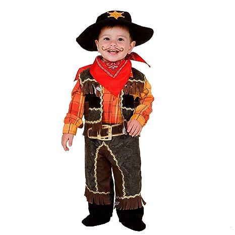 Veneziano Traje de niño Cowboy Plaid Wild West Rodeo Cowboy ...