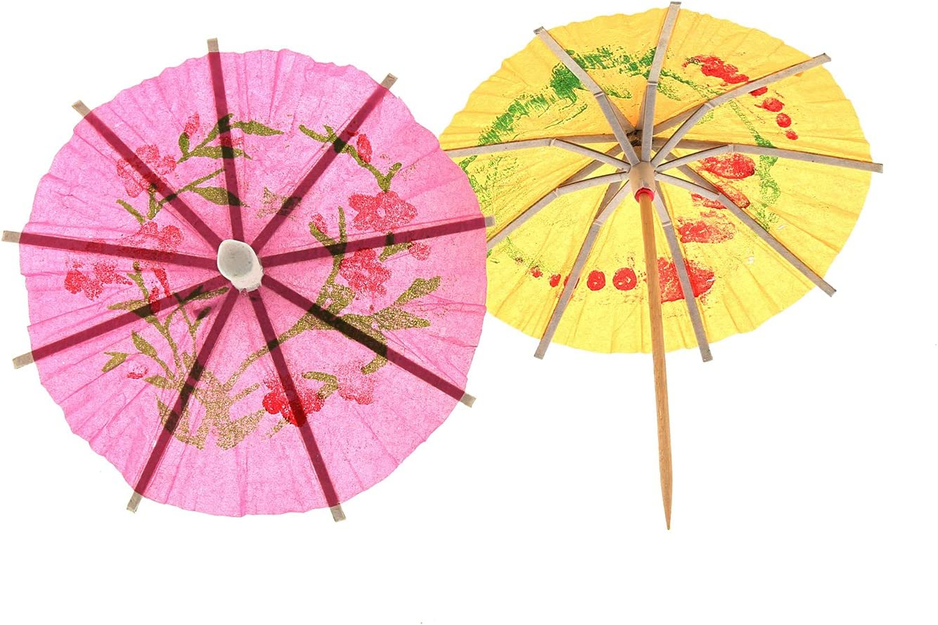 Royal Cocktail Parasol Toothpicks Picks Package of 144