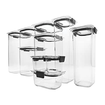 Rubbermaid Brilliance Pantry Food Storage Containers