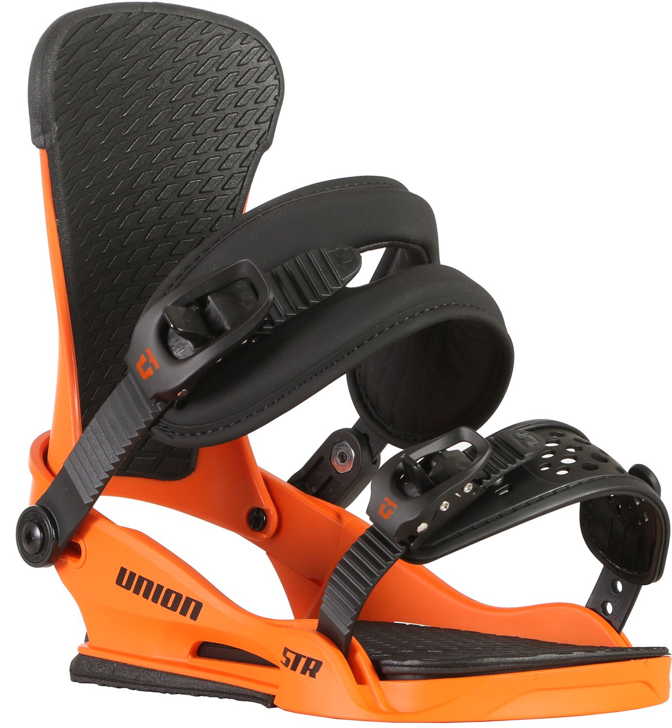 Union Binding Co - Mens STR Bindings 2018, Orange, M by Union Binding