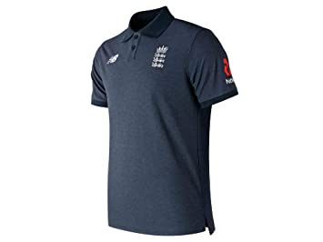 New Balance England Cricket Media Polo V2 (2019), Hombre, Small ...