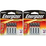Energizer MAX ceKMv Batteries, Designed to Prevent Damaging Leaks, AAA-4 (2 Pack)