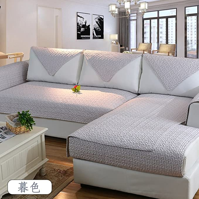 Amazon.com: Thickening Cotton Non-Slip Fabric Sofa Towel ...