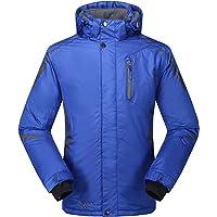 Krumba Men's Sportswear Outdoor Waterproof Windproof Hooded Ski Jacket