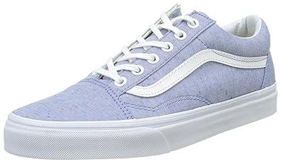 18a66db6dfc Vans Women s Ua Old Skool Low-top Sneakers Blue (Speckle Jersey Blue True
