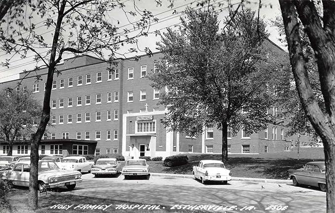 Amazon.com: Estherville Iowa Holy Family Hospital Real Photo ...