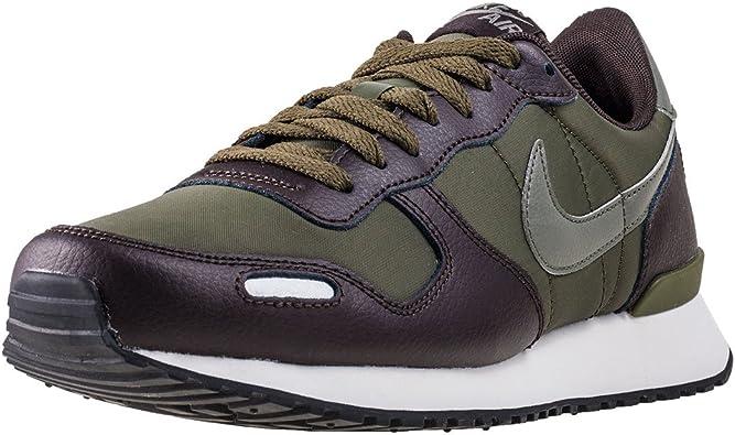 NIKE - Zapatilla Retro Running Cuero Hombre Color: Cargo-Khaki Talla: 46: Amazon.es: Zapatos y complementos