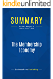 Summary: The Membership Economy: Review and Analysis of Kellman Baxter's Book