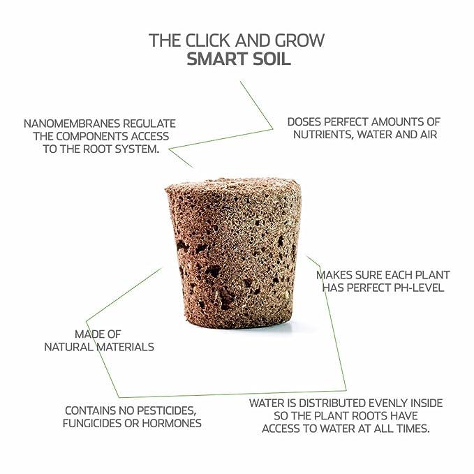 Recarga Triple de Abeto para Smart Garden - Click and Grow: Amazon ...