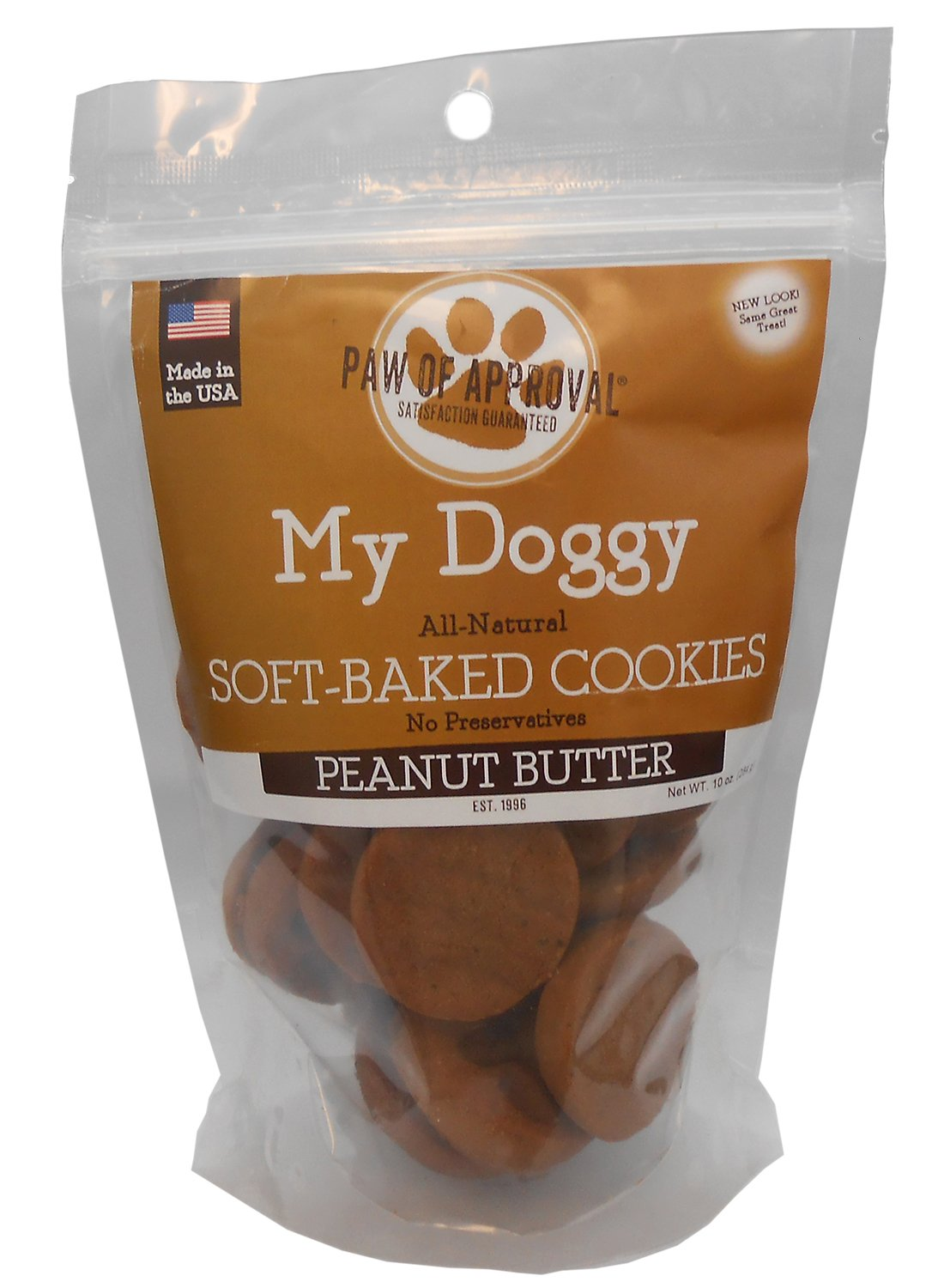 My Doggy Soft-Baked Cookies Dog Treats - 10 Ounces (Peanut Butter)