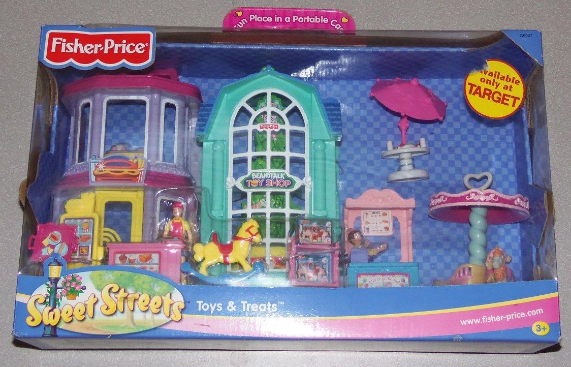 Amazon.com: Fisher Price Sweet Streets Toys & Treats - Fast Food ...