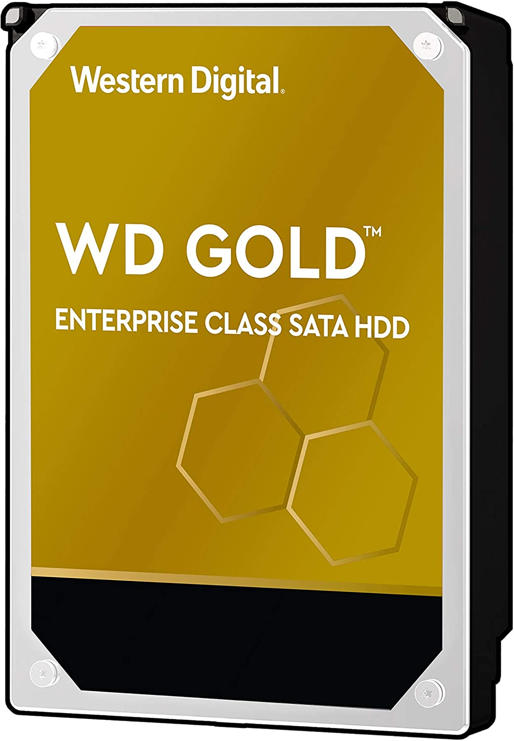 "Western Digital 4TB WD Gold Enterprise Class Internal Hard Drive - 7200 RPM Class, SATA 6 Gb/s, 256 MB Cache, 3.5"" - WD4003FRYZ"
