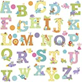 RoomMates Repositionable Childrens Wall Stickers - Happi Animal Alphabet