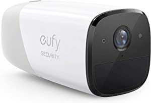 eufy Security, eufyCam 2 Wireless Home Security Add-on Camera, Requires HomeBase 2, 365-Day Battery Life, HomeKit Compatibility, HD 1080p, No Monthly Fee