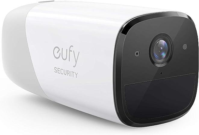 TALLA Cámara Adicional. Cámara de Seguridad inalámbrica Adicional eufyCam 2 de eufy Security, Requiere el Sistema HomeBase 2, 365 días de duración de la batería, HD 1080p, sin Tarifa mensual