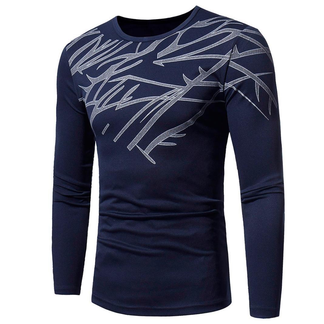 JiaMeng Suéter de Hombre Invierno Manga Larga Suéter Casual Jersey de Punto Caliente Camiseta de Invierno Top Fashion Printing para Hombres: Amazon.es: Ropa ...