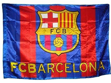 ee00f80372ca0 Bandera F.C. Barcelona (150 x 100 cm.)  Amazon.es  Deportes y aire libre