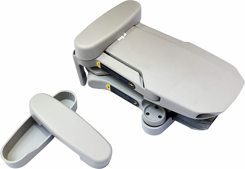 Linghuang Soporte de Hélice Flexible para dji Mavic Mini/ Mavic Mini 2 Propeller Fastener Protector Cover (Gris)