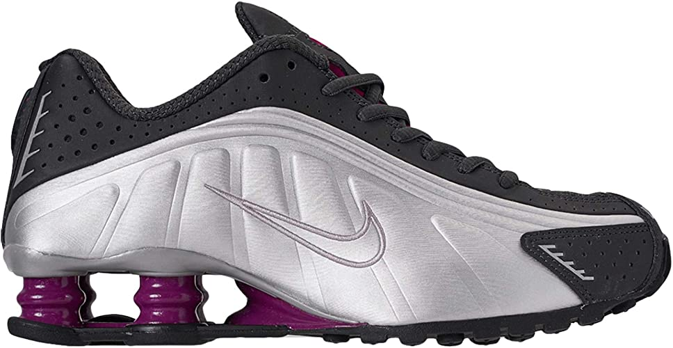 save off high fashion best selling Amazon.com | Nike Womens Shox R4 Leather Trainers | Road Running