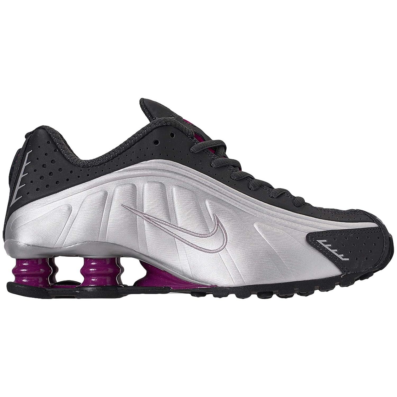 Nike Womens Shox R4 Leather Trainers