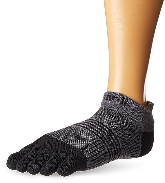 Injinji Women's Run Lightweight No-Show Toe Socks