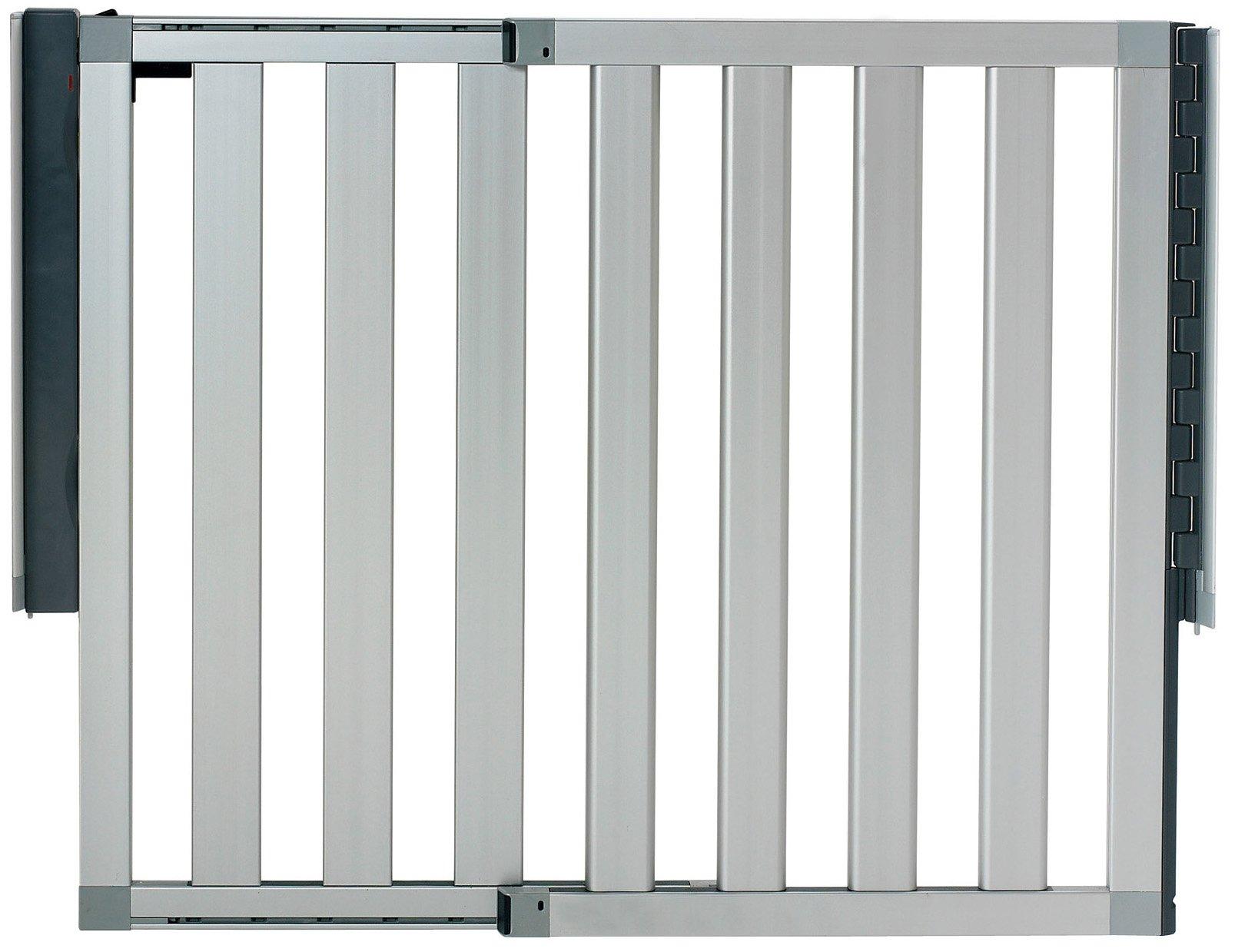Munchkin Loft Aluminum Baby Gate Silver