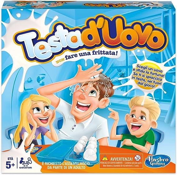 Hasbro Gaming – Testa duovo (edición Italiana, Idioma español no ...