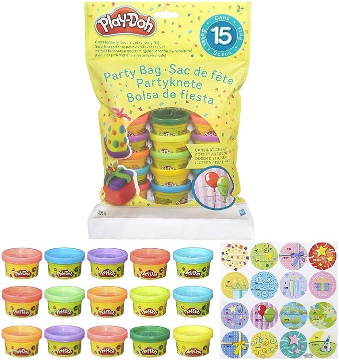 Play-Doh Bolsa De 15 Mini Botes (Hasbro 18367EU5) , color/modelo ...