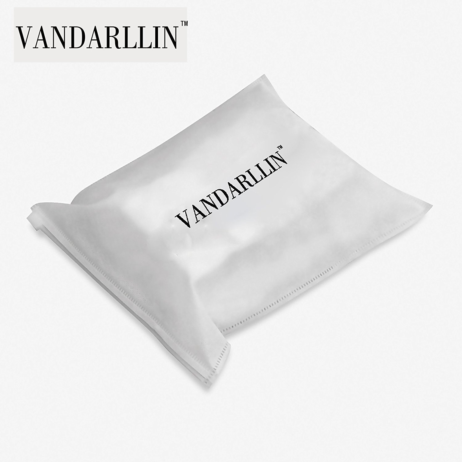 Extra Long 72 x 84 Vandarllin White Cube Fabric Shower Curtains for Bathroom Resistant Waterproof