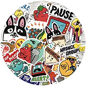 Sweetures Funny Stickers for Teens, Adults - Stickers for Waterbottles,Laptop,Phone,Hydro Flask - Waterproof Vinyl Sticker(20pcs)