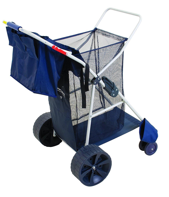 MEDA Deluxe Wonder Wheeler Beach Cart