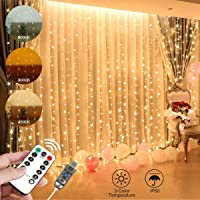 Twinkle String Lights with Remote Control Timer 300 Led USB Powered for Window Curtain Christmas Wedding Party Home…