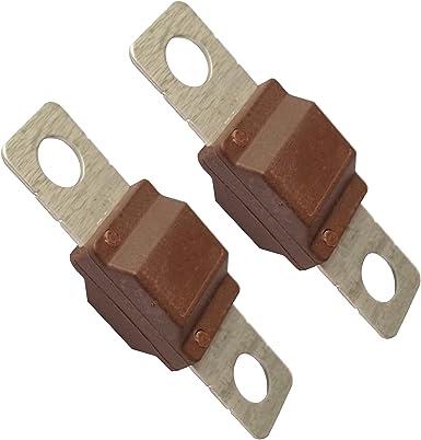 2x Starkstrom Sicherung 70a Für Exoda Small Sicherhalter Beleuchtung