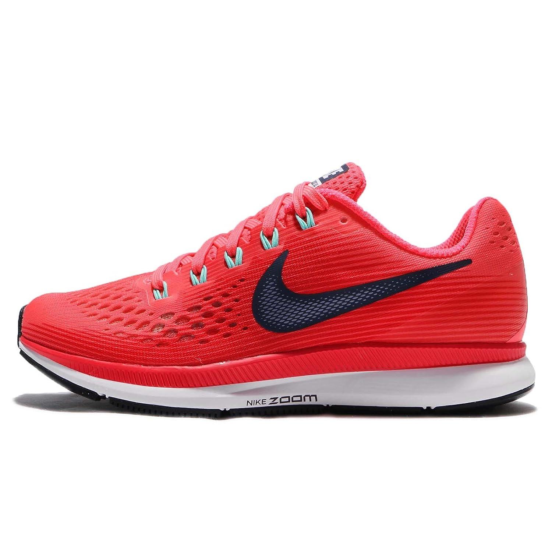 sports shoes c3146 735ac Nike Women's WMNS Air Zoom Pegasus 34, HOT Punch/Thunder Blue, 5 M US