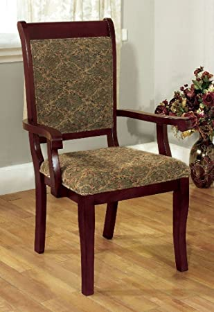 Amazon.com: furniture of america cm3224ac-2pk St. Nicholas I ...