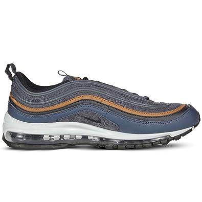 476c6e5536 Nike Men's Air Max 97 Premium Obsidian Blue 312834-400 (Size: ...