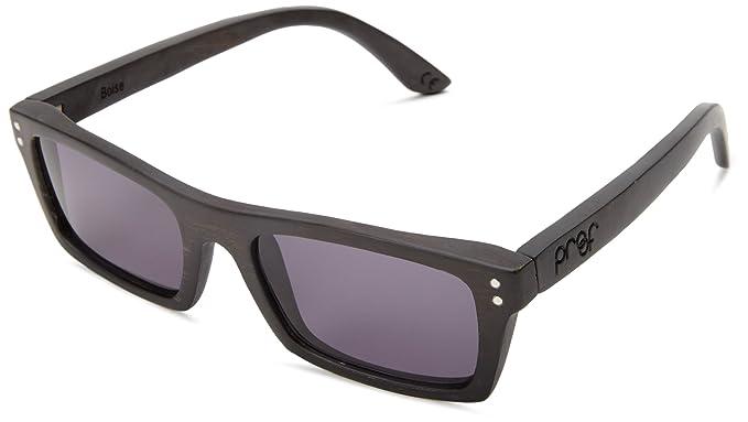 040d647aa503 Proof Boise Black Maple Wood Rectangular Sunglasses (bosebpol ...