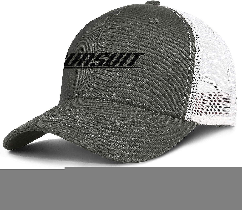 YYWCJ Dad Mesh Hats Pursuit-Logo Snapback Mens Women Adjustable Hip Hop Cap