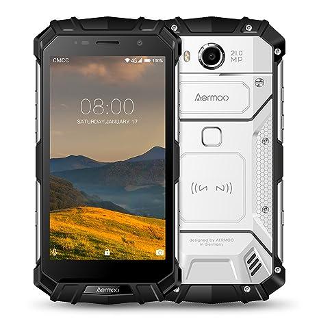Smartphone Libre, Aermoo M1 Dual SIM Móviles y Smartphones Libres, IP68 Impermeable 4G Teléfono