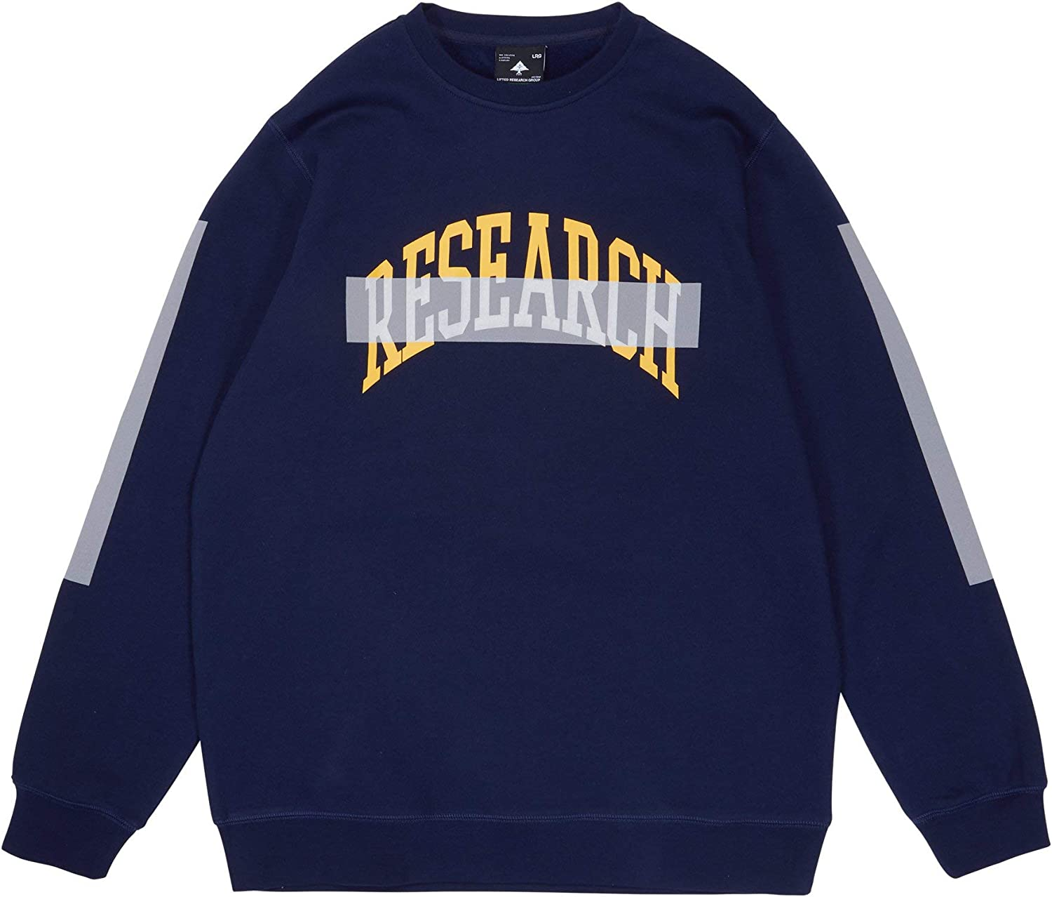 LRG mens Research Crewneck: Clothing