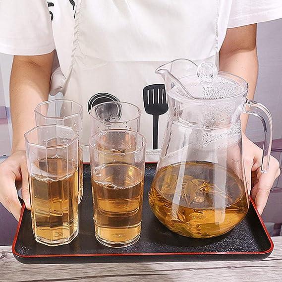 t/è e caff/è snack Vassoio da portata rettangolare in legno nero vassoi da ristorante 35 * 24cm vassoio da portata vassoio da bar piatti da portata