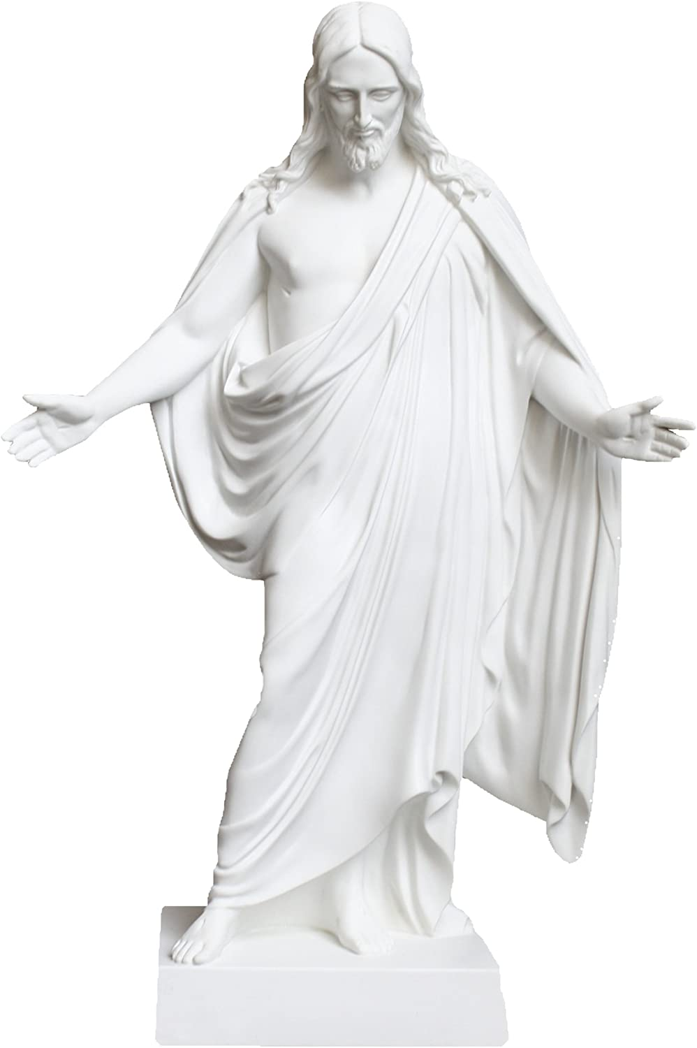 """One Moment In Time S4A LDS CTR Statue 6"""" White Cultured Marble Handmade"""